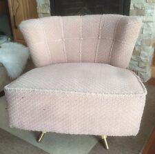 Koehler Mod Tub/Barrel Style Swivel Chair Mid-Century