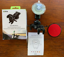 iOttie Car Dash & Windshield Mount EasyOne Touch 4 Phone Holder NEW IN BOX