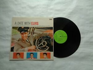 Elvis Presley (A DATE WITH ELVIS)  ALBUM ON RCA RECORDS 1959 REISSUE