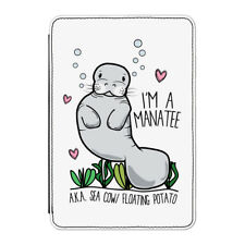 """I'm A Manatee Case Cover for Kindle 6"""" E-reader - Funny"""