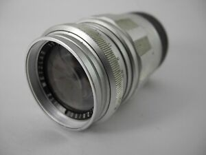 LEICA CHROME ELMARIT 90/2.8 PERFECT GLASS AND SMOOTH FOCUS