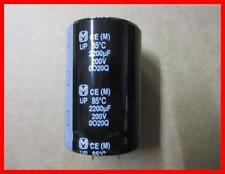 Panasonic condensador 2200µf 200v 20% 85 ° 35 x 50 mm 1 unidades