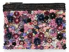 Accessorize Monsoon Clutch Bag Wedding Party Handbag Pearl Embellished Bead UK