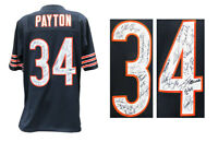 1985 Chicago Bears Team Signed Walter Payton Navy M&N Jersey (28 Sigs) - SS COA