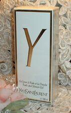 ~ Y YSL Yves Saint Laurent ~ 6.6 oz  Perfume d Shower Gel ~ Original Formula