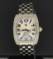 Michele Urban Mini 29mm X 35mm Diamond Bezel Stainless Steel MWW02A000124