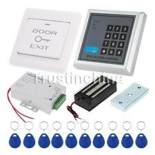 New Electric Door Lock Magnetic RFID Entry Access Control Password Entry System