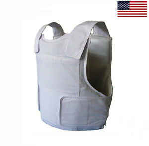 Brand new Concealable Bulletproof Vest Stabproof Body Armor NIJ 3A - Small