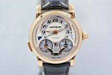MONTBLANC NICOLAS RIEUSSEC 18K ROSE GOLD AUTOMATIC CHRONOGRAPH WATCH REF: 104271