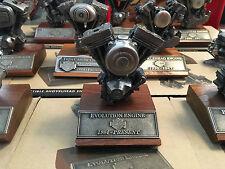HARLEY DAVIDSON DEKO EVOLUTION MOTOR MODELL - ORIGINAL HARLEY - KEIN REPLIKA