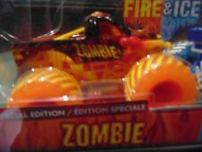 2019 FIRE & ICE 2-Pack MONSTER JAM ZOMBIE & EL TORO LOCO SPECIAL EDITION