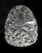 Klokotschnik Glashutte Germany hand blown 30% lead crystal paperweight 3.5 inch