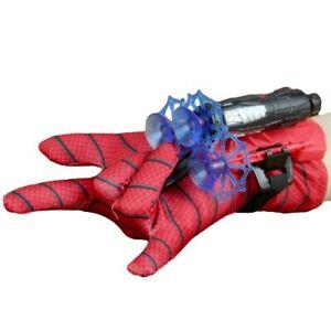 Spider-Man Web Shooter Dart Blaster Launcher Toy Spiderman Costume Glove Kids US