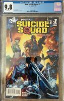 New Suicide Squad 1 DC 2014 CGC 9.8 Harley Quinn Deathstroke