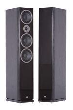HECO Music Style 900 Schwarz NEU High End 3-Wege Bassreflex UVP € 998,00 Paar