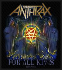 Anthrax for all Kings Patch/ricamate 602763 #