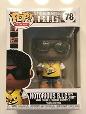 2018 Funko Pop! Vinyl Rocks #78 Notorious B.I.G. w/Jersey & Protector New in Box
