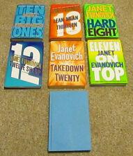 Lot of 7 Janet Evanovich Hardcover HC Stephanie Plum Novel Books Mystery