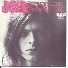 7'David Bowie  >Jean Genie/Ziggy Stardust< GERMANY LONG-HAIR PIC-SLEEVE NM/EX