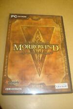 The Elder Scrolls III Morrowind PC-CDROM