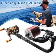 Fishing Line Spooler Winder Reel Station Spool System for Spin Fishing Reel AU