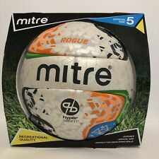 Mitre Soccer Ball Rogue Game Sz5 . New