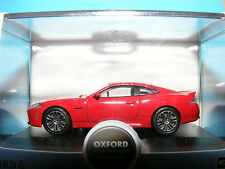 Jaguar XKRS in Italian Racing Red   2013 1:76 Oxford Diecast New