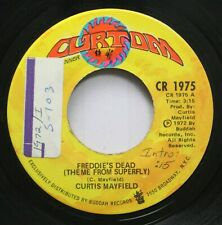 Soul 45 Curtis Mayfield - Freddie'S Dead (Theme From Superfly) / Underground On