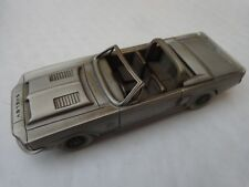 DANBURY MINT 1/43 CLASSIC 1968 SHELBY MUSTANG GT350 PEWTER MODEL CAR