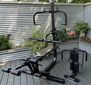 Soloflex Complete Muscle Machine Home Gym w Butterfly Leg Attachments