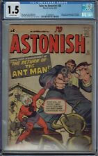 CGC 1.5 TALES TO ASTONISH #35 1ST TRUE APPEARANCE ANT-MAN IN COSTUME & ORIGIN