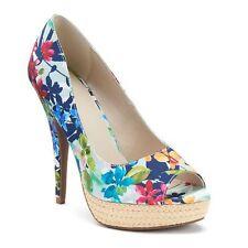 Trendy Floral Apt. 9 Women's Platform Heels - Size 10 (Ships Free)