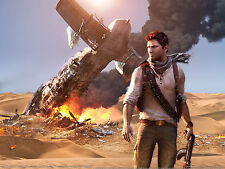 Uncharted 3 A4 260GSM poster print