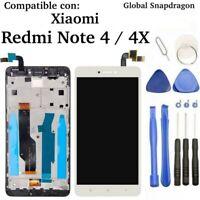 Pantalla para Xiaomi Redmi Note 4 / 4X GLOBAL Snapdragon LCD Táctil MARCO BLANCA