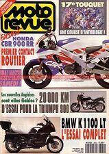 MOTO REVUE 3030 TRIUMPH 900 Trident BMW K1100 LT HONDA CBR 900 RR Alain MICHEL