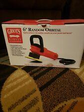 "GRIOT'S GARAGE 6"" Random Orbital Polisher w/ Handle & 6 pads - Like New"