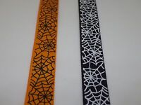 Grosgrain Spider's Web Ribbon 16mm in 2m or 5m cut lengths - free postage