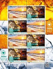 FS 4850-5 mini sheet MNH POLAND Wieliczka Salt Mine, Baltic sea stamps