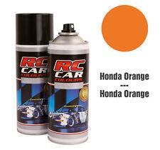 rcc945 Bomboletta vernice spray lexan carrozzeria colore orange 150ml auto