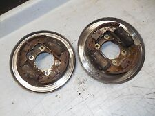 honda trx350 foreman 350 fourtrax front brake panels cylinders 86 1987 1988 1989