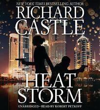 New Audiobook Nikki Heat: Heat Storm by Richard Castle (2017, CD, Unabridged)