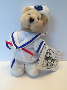 "Ganz Wee Bear Village 5""  DOODLE Bear in Sailor Costume Retired"