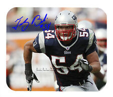 Item#2599 Tedy Bruschi New England Patriots Facsimile Autographed Mouse Pad