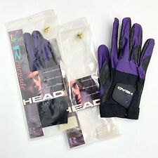 Two(2) Head Renegade Racquetball Gloves Right Large, Premium Leather Finger Pads