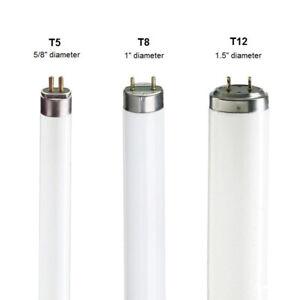 T5 / T8 / T12 Fluorescent Tubes 2ft 3ft 4ft 5ft 6ft 827 830 835 840 865