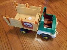 Vintage 1979 Fisher-Price Husky Helper #330 Rodeo Rig Farm Truck