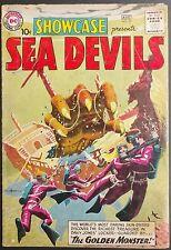 SHOWCASE 1960 #27,28,29+SEA DEVILS #1 LOT OF 4 SEA DEVIL KEYS LOWER GRADE,HEATH