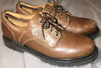 Timberland Brown Leather Casual Walking Hiking Shoes Men's Size US-12M Clean
