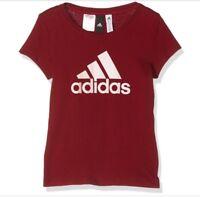 adidas performance Junior Girls YG Logo Tee T Shirt BNWT Free delivery BP8602