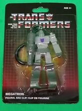 Transformers G1 Keychain Bag Backpack Clip Megatron Retro Vintage LOOK